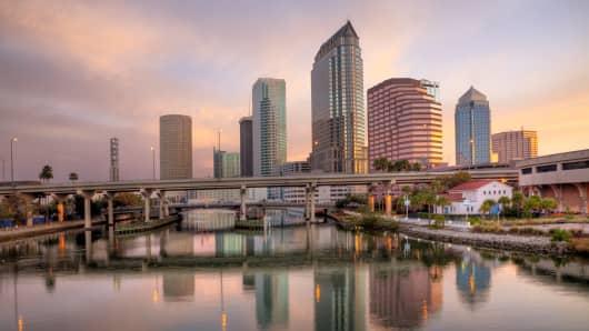 Tampa Bay, Florida.