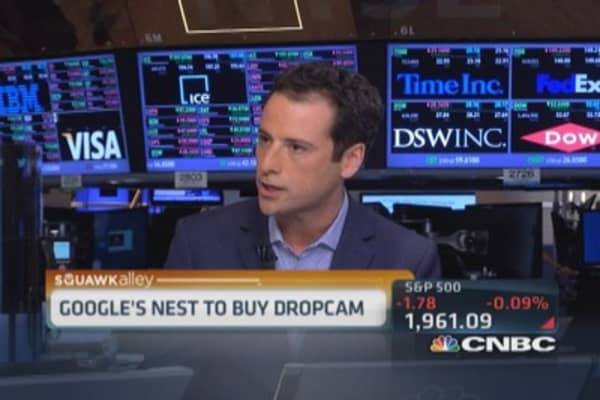 Google's Nest buys Dropcam