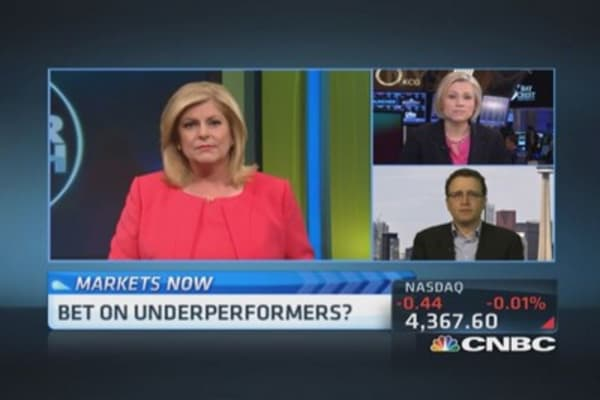 Bet on underperformers?