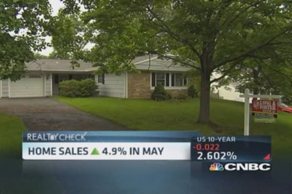 Home sales spring higher in May