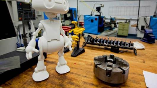 Meet Intel's Jimmy the Robot