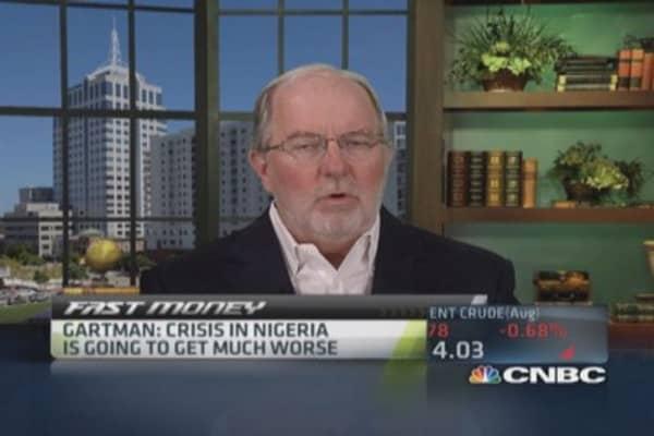 Gartman: Nigeria's threat to oil