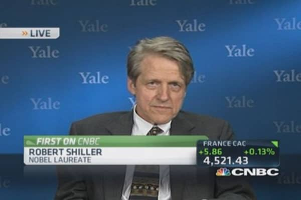 Shiller: Puzzling housing outpacing expectations