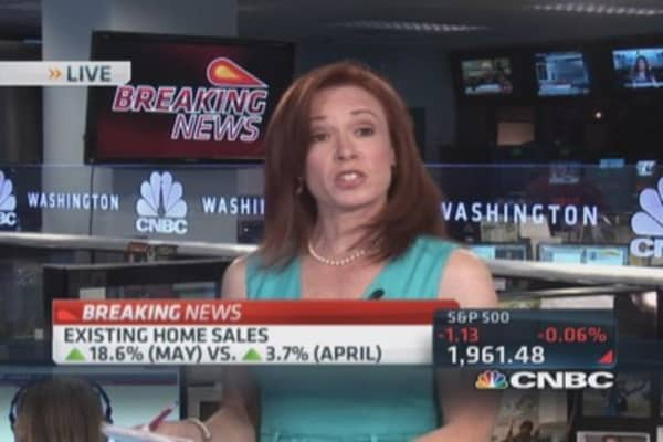May new home sales up 18.6%