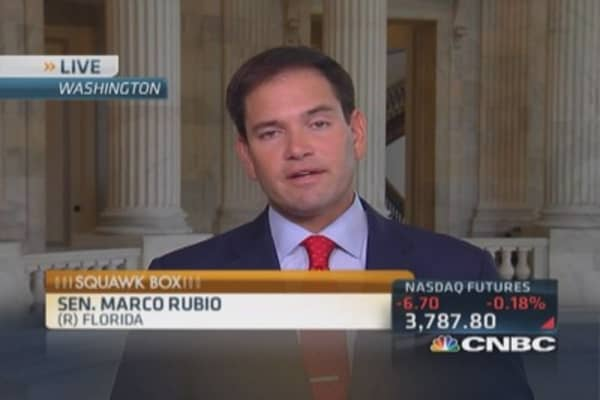 What America 'desperately' needs: Sen. Rubio
