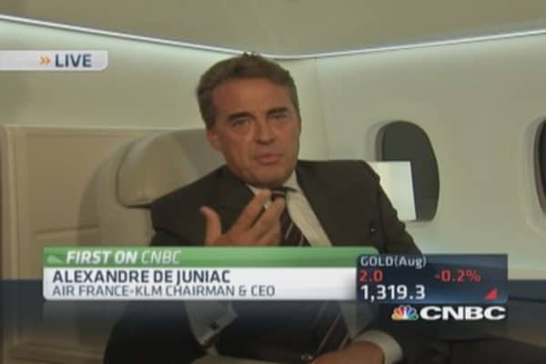Air France enters luxury game