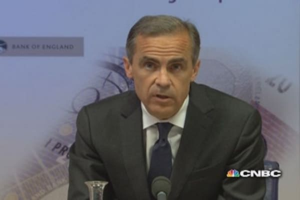 BoE unveils mortgage 'affordability test': Carney