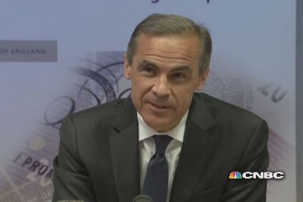I've been faithful and consistent: BoE's Carney