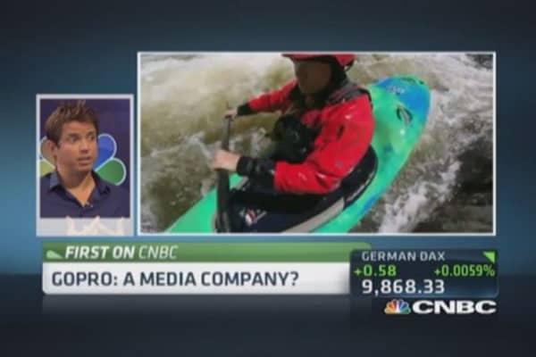 GoPro 'uncorks' massive content: CEO