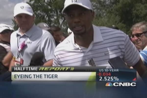 Tiger Woods' big comeback