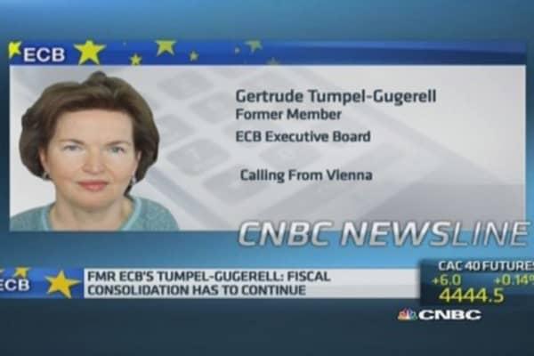Low interest rates 'not ideal': Ex-ECB member