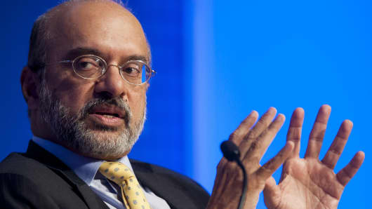 Piyush Gupta, chief executive officer of DBS Group