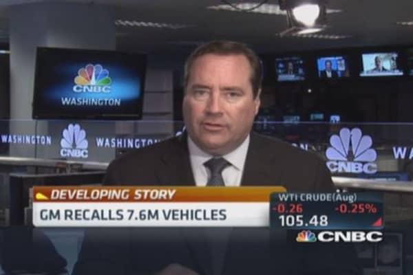GM recalls another 7.6 million vehicles