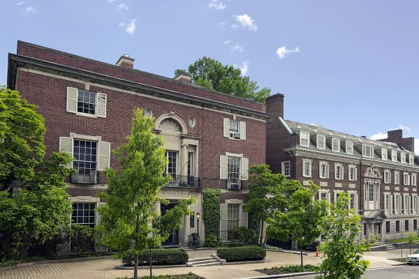 One of the most expensive listings in Washington, DC with some super rich history.
