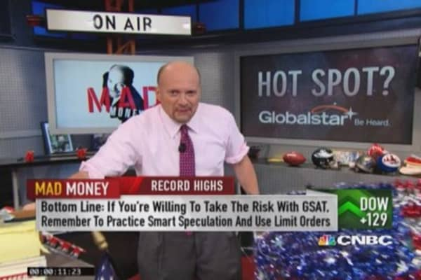 Why Cramer thinks Globalstar could soar