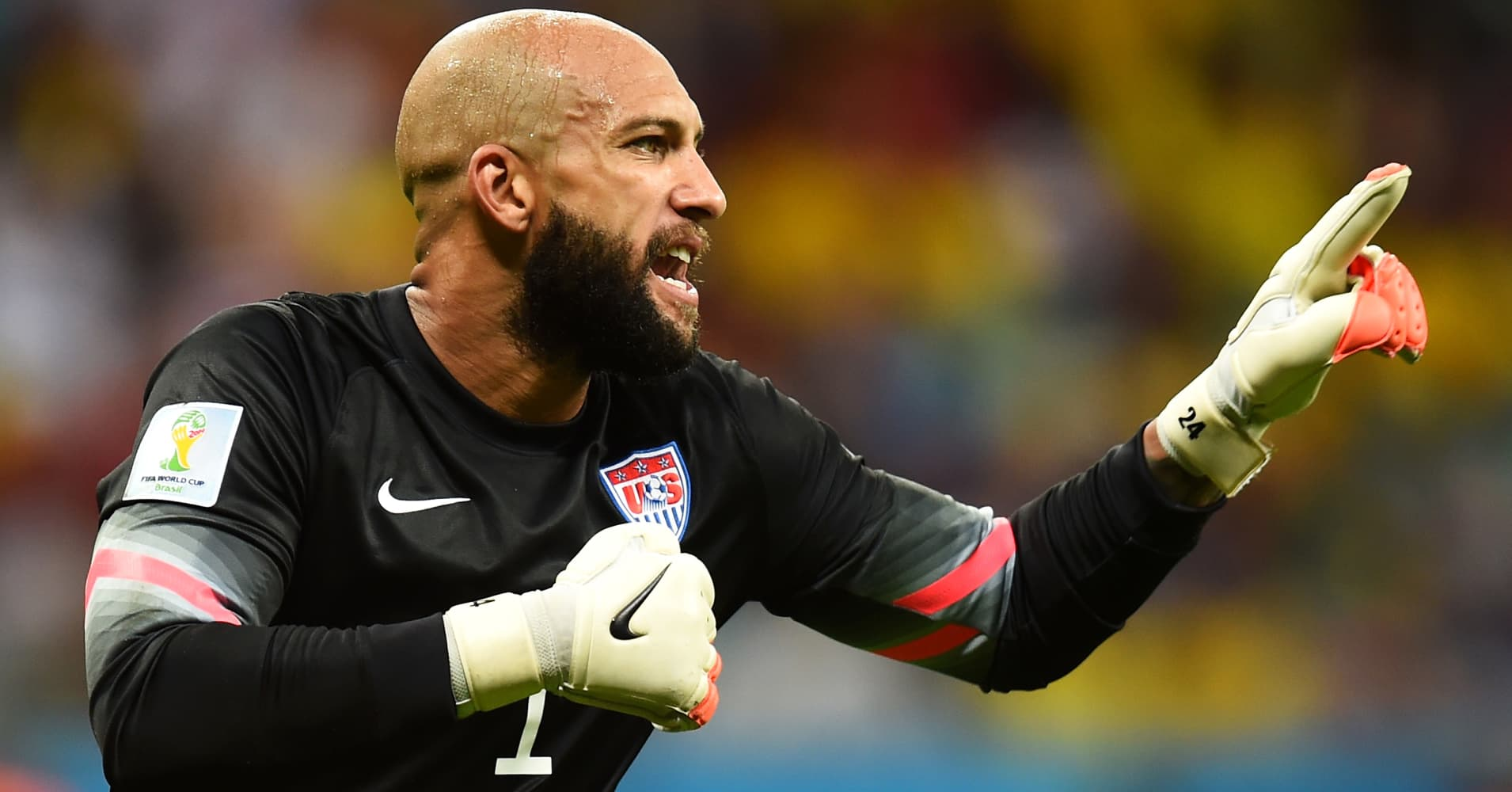 Goalkeeper Tim Howard is social media's new hero