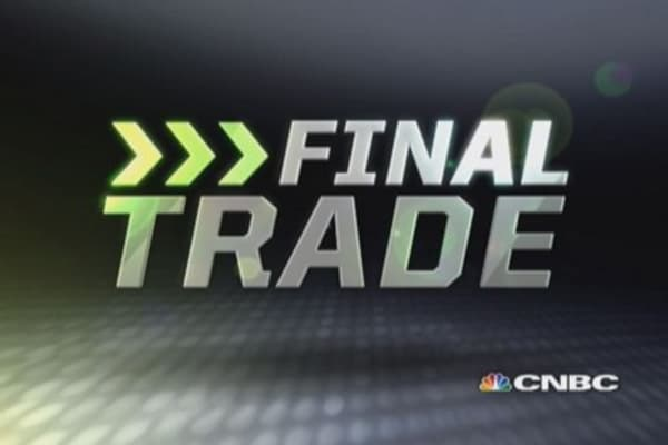 Fast Money Final Trade: STZ, SLV, NADL, X