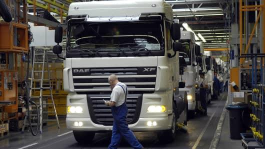 DAF Trucks NV, the Dutch division of U.S. truckmaker Paccar Inc.