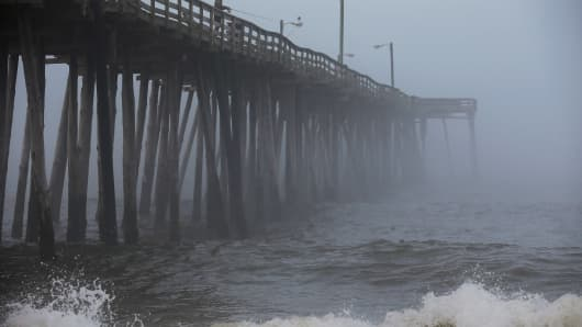 Hurricane warning has been issued for North Carolina's outer banks due to Hurricane Arthur.