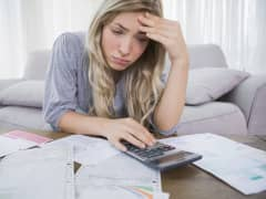 Financial insecurity debt stress