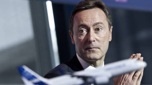Fabrice Bregier, Chief Executive Officer of Airbus.