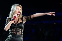 Taylor Swift performs at Singapore Indoor Stadium on June 9, 2014 in Singapore.