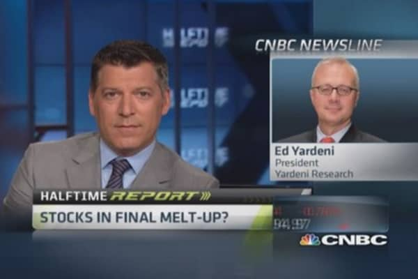 Yardini: Stocks entering euphoric stage