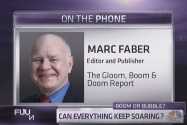Marc Faber: We're entering a bear market