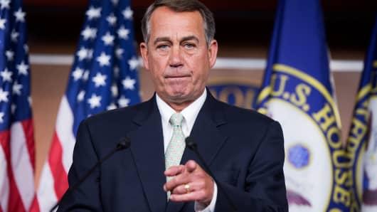 Speaker John Boehner, R-Ohio