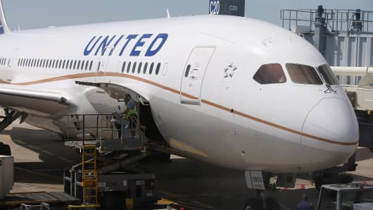 United Continental airline