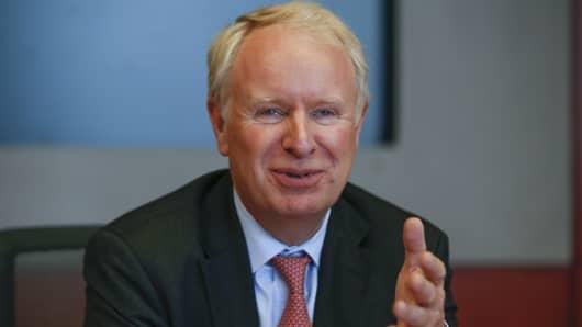 Allergan Chief Executive David Pyott