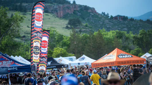 The Oskar Blues' Burning Can festival