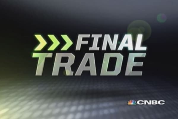 Fast Money Final Trade: CVX, EWZ, INTC