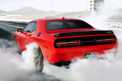 The 2015 Dodge Challenger SRT Hellcat.