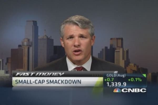 Small-cap smackdown