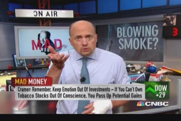 Why Cramer is bullish on tobacco