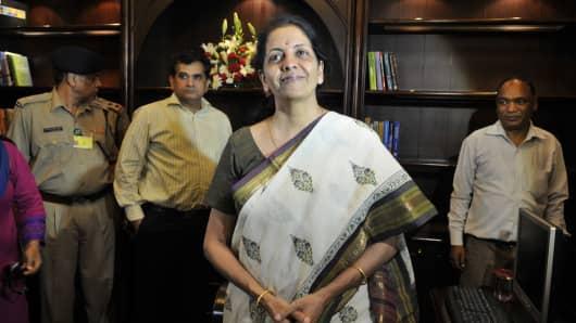 Nirmala Sitharaman, India's commerce minister.