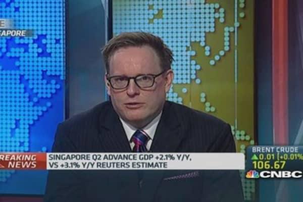 Singapore Q2 growth misses estimates