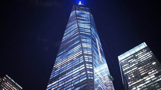 AECOM's projects include One World Trade Center in New York City.