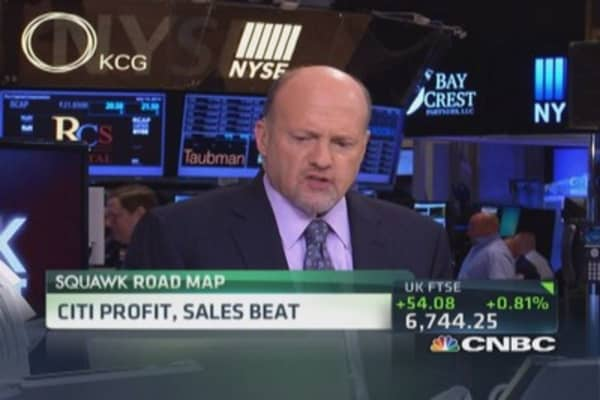 Cramer's advice to Citi