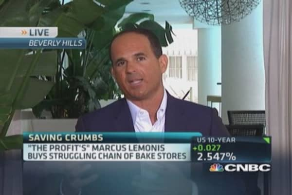 Marcus Lemonis' 'sweet' plan for Crumbs