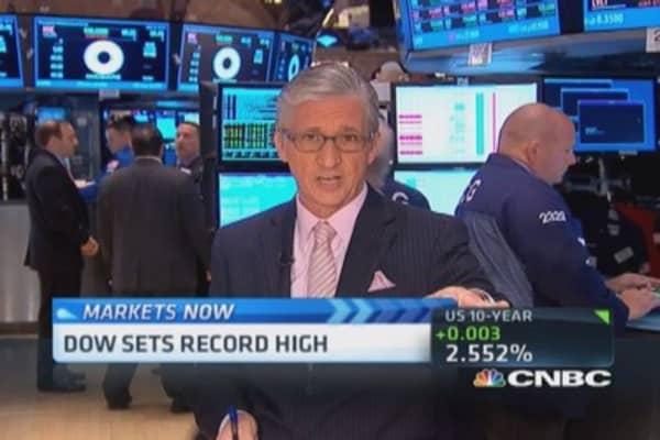 Pisani's market open: Banks leading