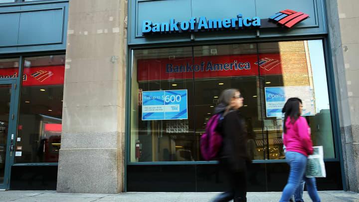 Bank of America branch in New York City