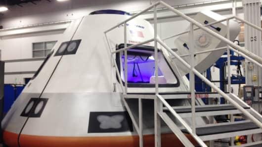 Boeing's CST-100 prototype