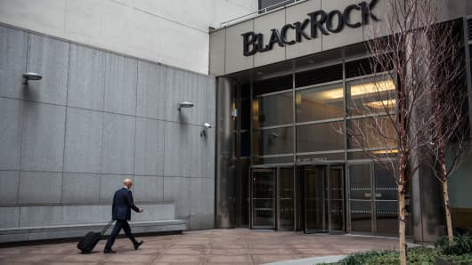 BlackRock's offices in New York City