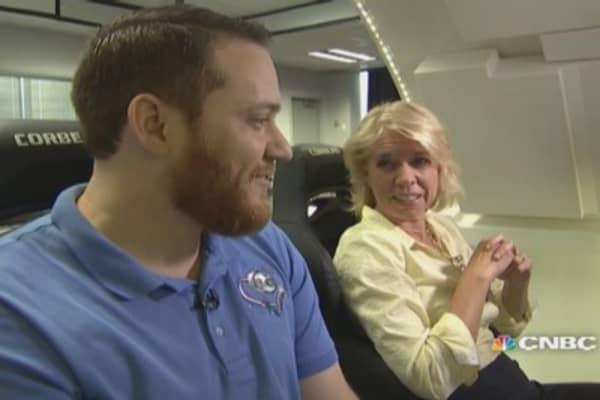 Flying the Boeing crew capsule