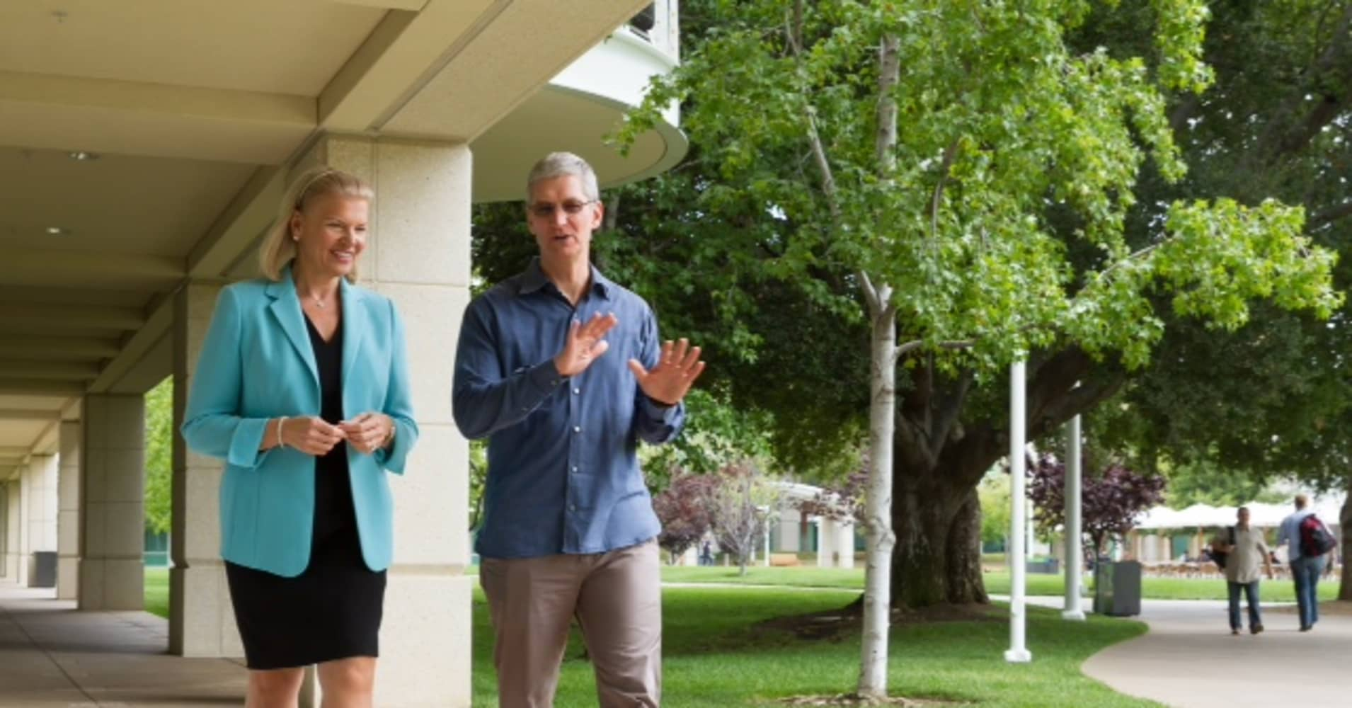 Apple, with IBM, aims to dominate biz computing