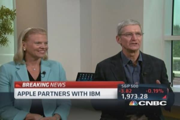 Big partnership for Apple & IBM