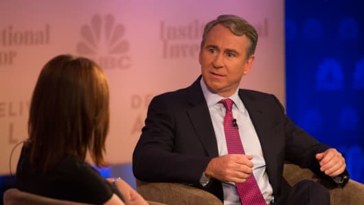 Ken Griffin, founder and chief executive officer, Citadel