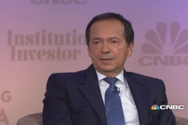 John Paulson on Allergan as Valeant takeover target